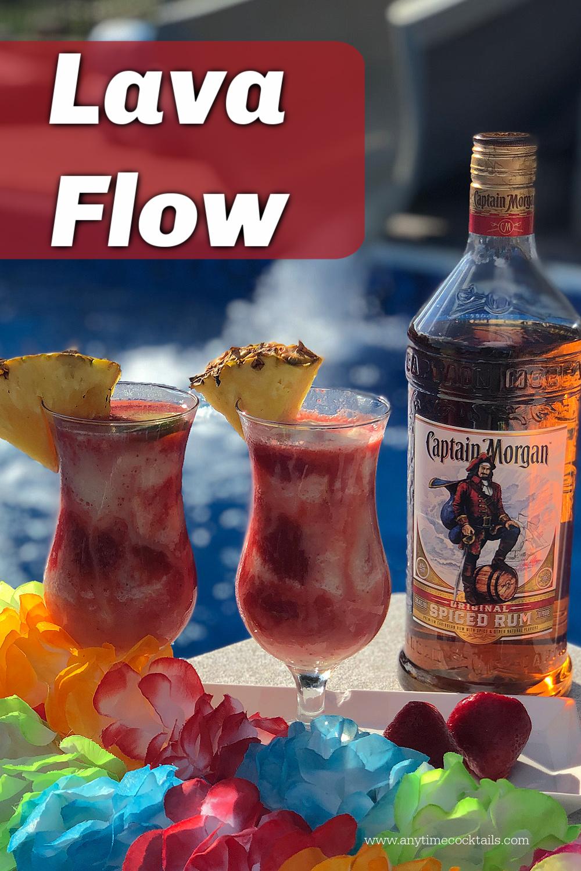 Lava Flow Drink