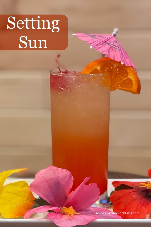 Setting Sun Cocktail