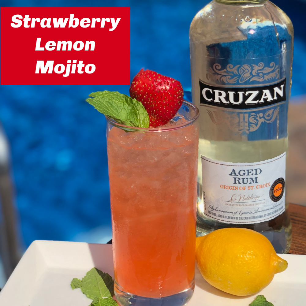 Strawberry Lemon Mojito
