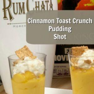 Cinnamon Toast Crunch Pudding Shot