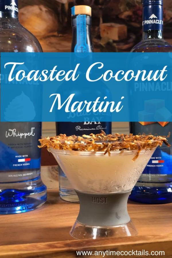 Toasted Coconut Martini Recipe