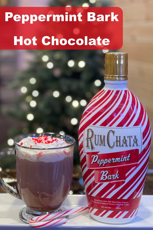 Peppermint Bark Hot Choclolate