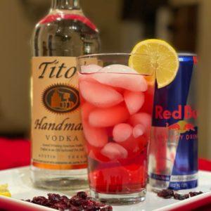 Santa Tart Cocktail